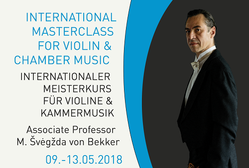 Internationaler Meisterkurs für Violine & Kammermusik